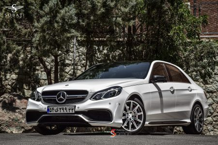 Mercedes Benz E250 AMG package super metallic Sobati Customs