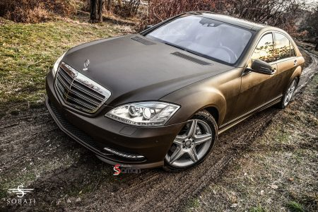 Mercedes Benz S350 Lethern Sobati Customs