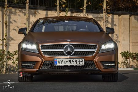 Mercedes Benz CLS500 Brown Matte Sobati Customs