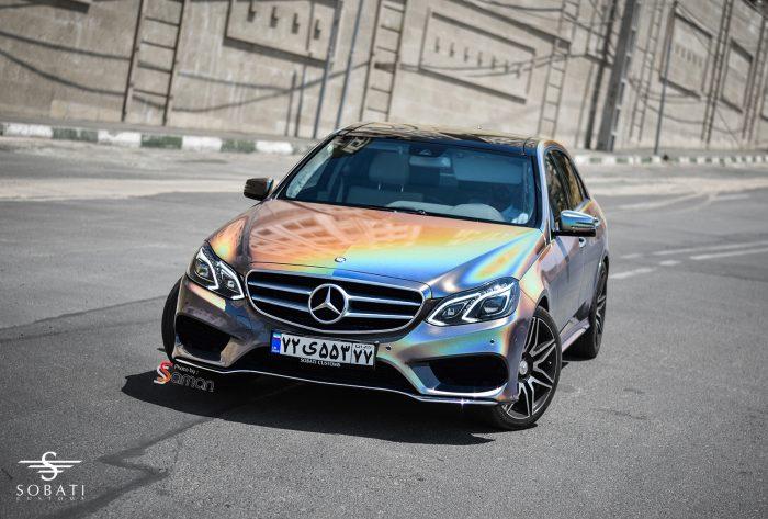 Mercedes Benz E200 seven color Sobati Customs