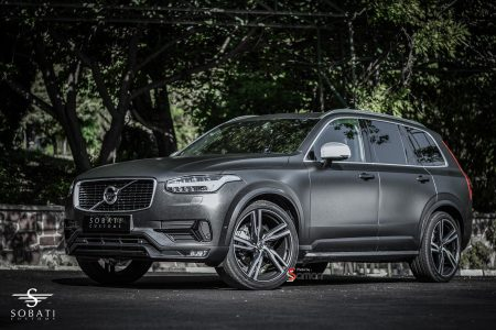 Volvo XC90 Matte Metallic Sobati Customs