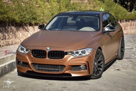 BMW 3 Series Brown Matte Sobati Customs