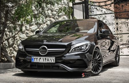 Mercedes Benz CLA45 AMG Sobati Customs