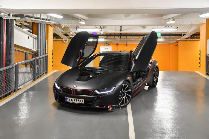 BMW i8 Black Matte Sobati Customs
