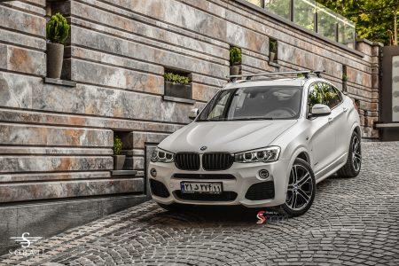 BMW X4 White Matte Satin Sobati Customs
