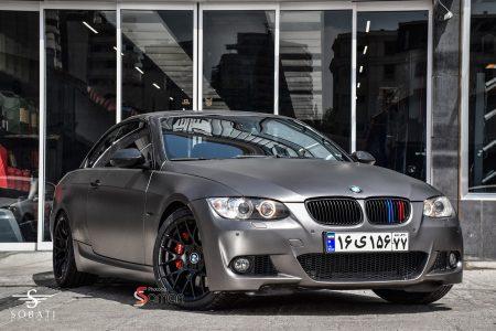 BMW 335i convertible matte Sobati Customs