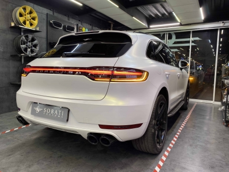 Porsche Macan Gold Matte Metalic Sobati Customs
