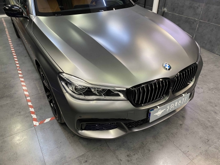 BMW 730 Li gray matte sobati customs