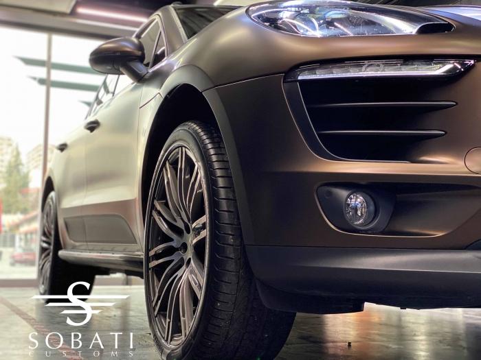 Porsche Macan Java Brown Sobati Customs