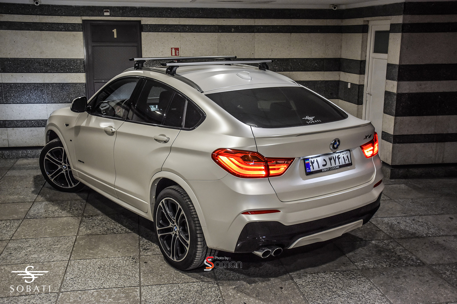 Bmw X4 White Matte Satin Sobati Customs
